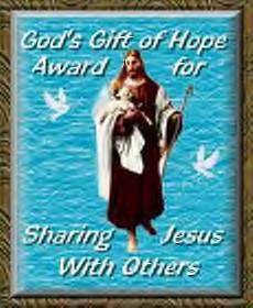 God's Gift Of Hope Award