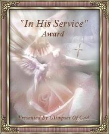 Glimpses Of God Award
