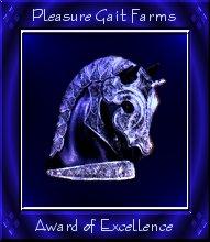 Pleasure Gait Farms Award
