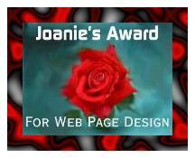 Joan's Award